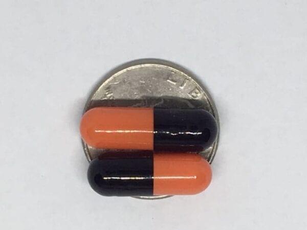 black orange-size 0-gelcaps