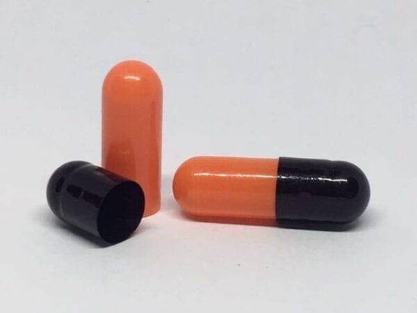 gelcaps-size 0-black orange