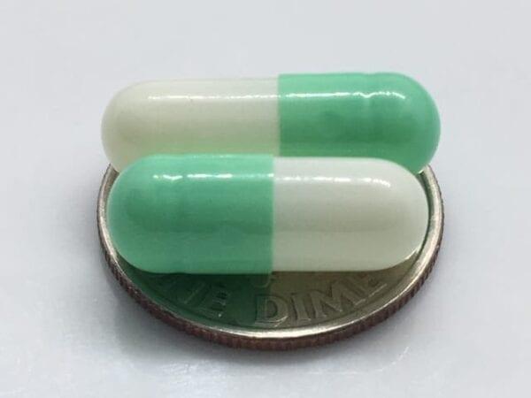 mint-green-empty-gelatin-capsules-gelcaps-size 3