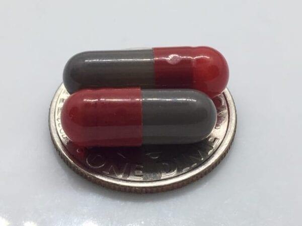 empty-gelatin-capsules-red-gray-gelcaps-size 4