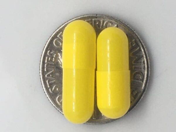 yellow-empty-gelatin-capsules-size4