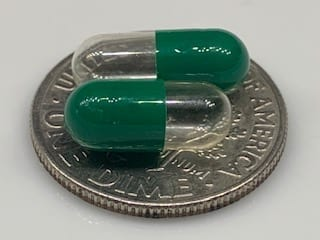 CapsuleUSA-size5-gelcaps-clear-green